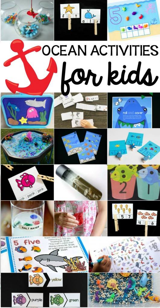 ocean themed activities for toddlers and preschoolers