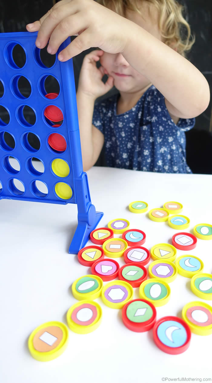 shapes finding game