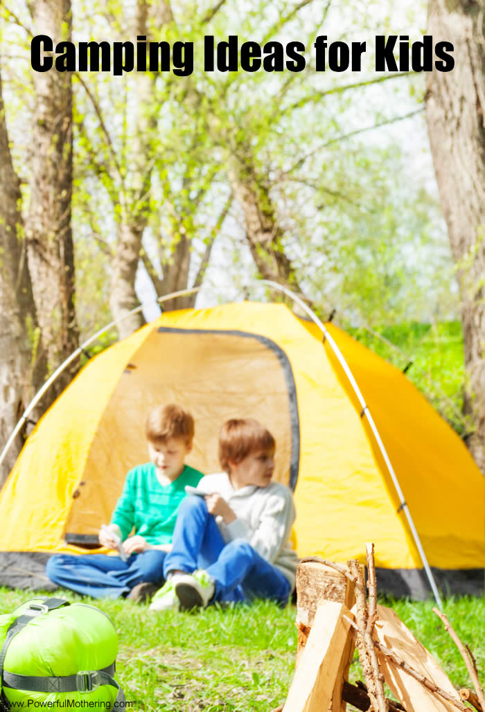 Ideas For Kids Bedroom: Camping Ideas For Kids