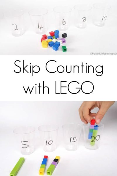 Skip Counting with LEGO