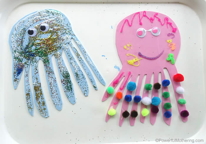 preschoolers craft for o is for octopus