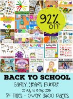 Back to School – Early Years Bundle