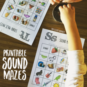 A. Printable Alphabet Sound Mazes you clever monkey (1)