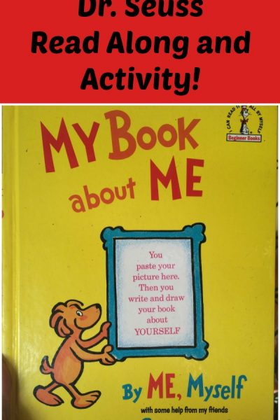 All About Me Read Along and Activity Book