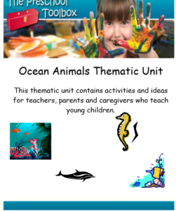 Ocean Theme for Preschool and Kindergarten (1)