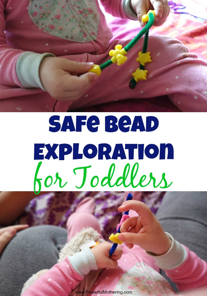 Safe Bead Exploration for Toddlers