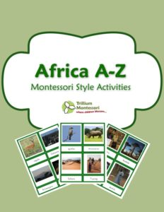 "Early Years Ebook Bundle - ""Africa A-Z"""