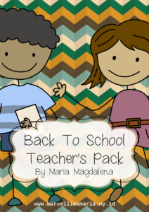 Early Years Ebook Bundle: Back to School Teacher's Pack