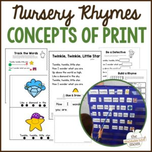 nursery rhyme concepts of print pack (1)