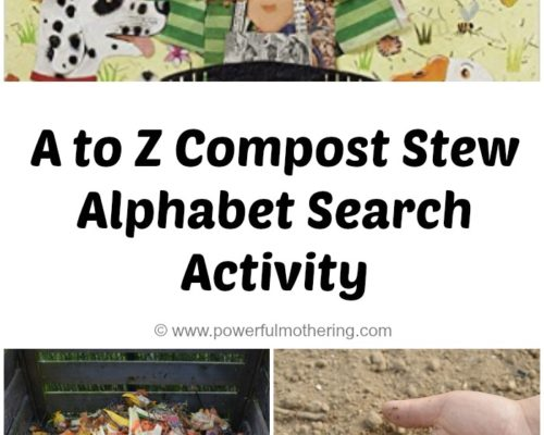 A to Z Compost Stew – Alphabet Search Activity