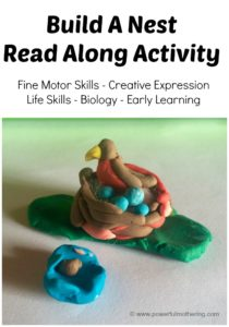 Build a Nest Read Along Activity
