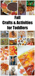 Fall Crafts & Activities for Toddlers