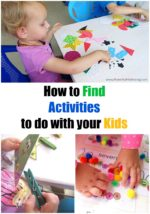 How to Find Activities to do with your Kids