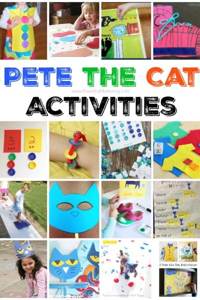 Pete the Cat Activities for kids