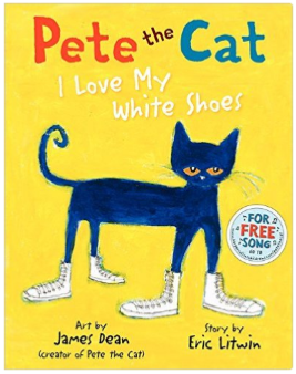 Pete The Cat Loves His White Shoes Activities