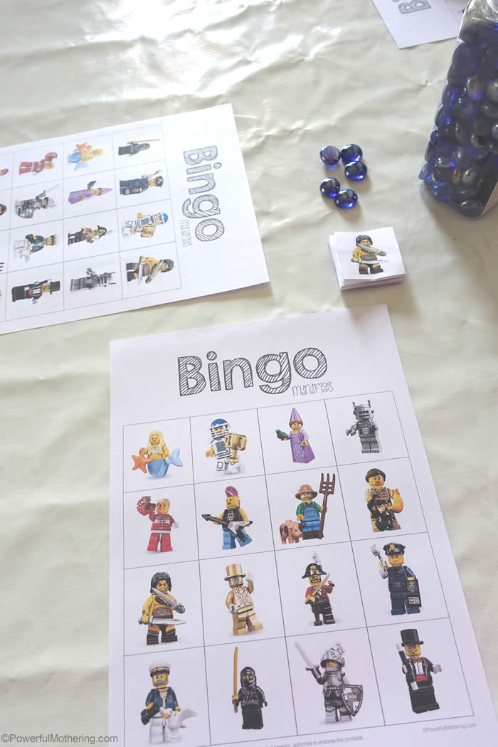 lego bingo game free printable