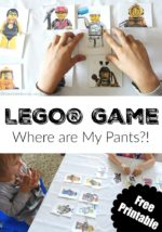 LEGO Game Where are My Pants?