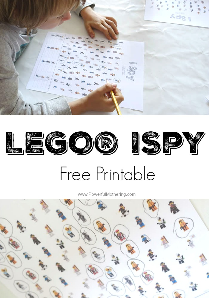 Promote counting with this ispy LEGO game! Kids will love it so much they will want to play over and over again. See all our LEGO games and make a stash!