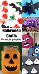 40+ Do-able Halloween Crafts for Toddlers and Preschoolers