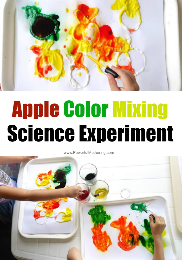 Children love the book 10 apples up on top and science reaction experiments! Enjoy both with this easy and engaging activity!