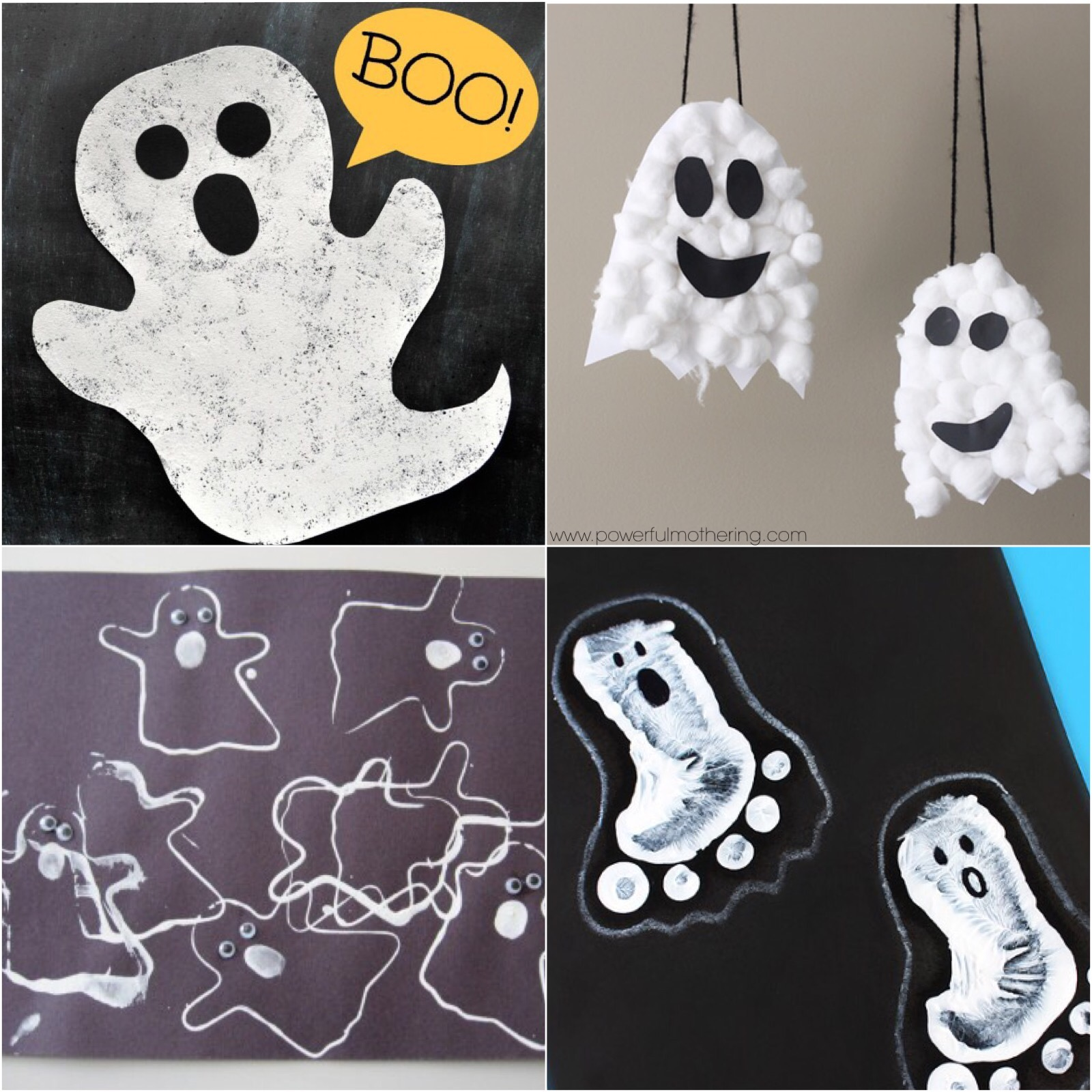 ghost ideas for toddlers