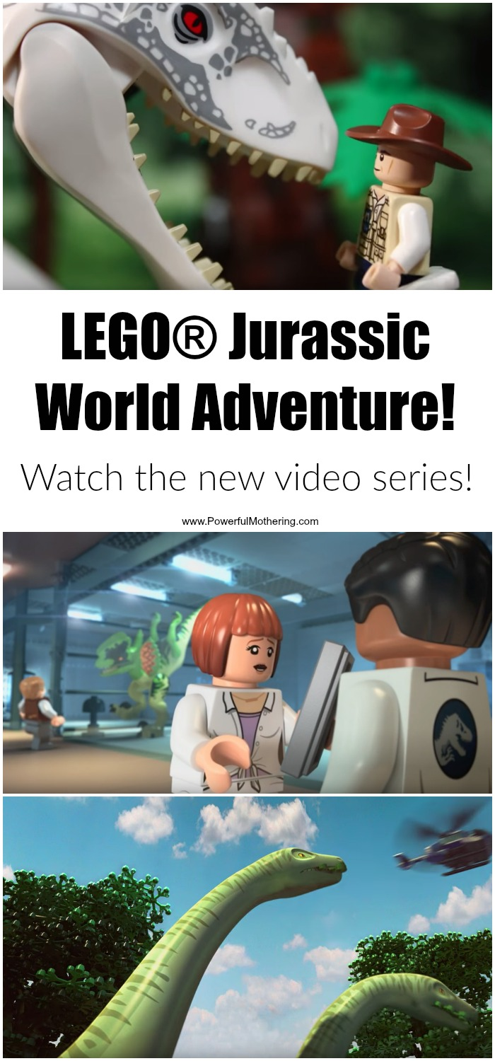 Dinosaurs meet LEGO! Kids in general have always been fascinated with dinosaurs, they also love to build with LEGO and as kids the imagination is wonderfully ripe for pretend play. So while we wait for that new movie and play with our LEGO Jurassic World dinosaur sets I have a few videos that you and your kids are going to love! #ad http://www.powerfulmothering.com/lego-jurassic-world-adventure/