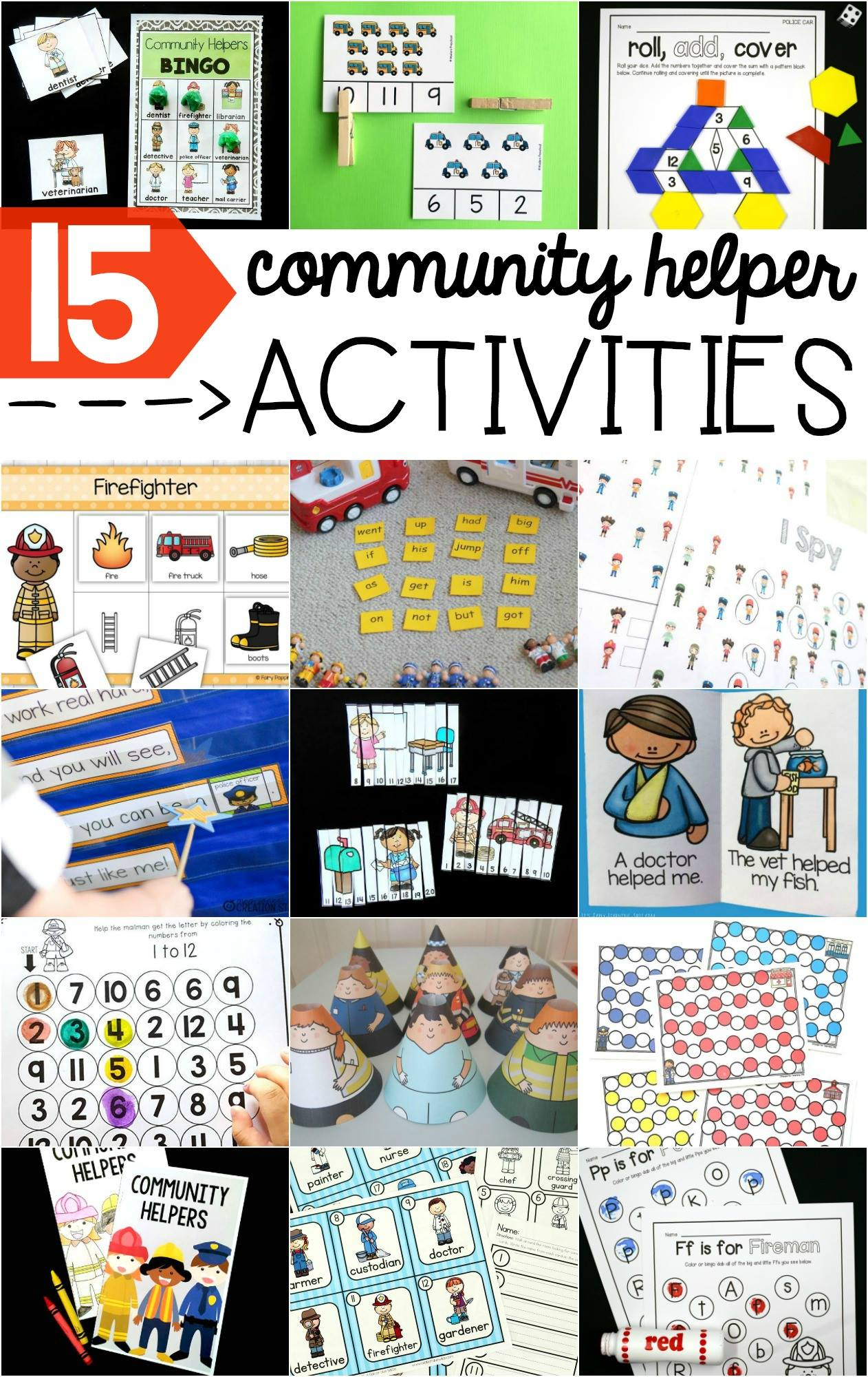 community-helpers-printables