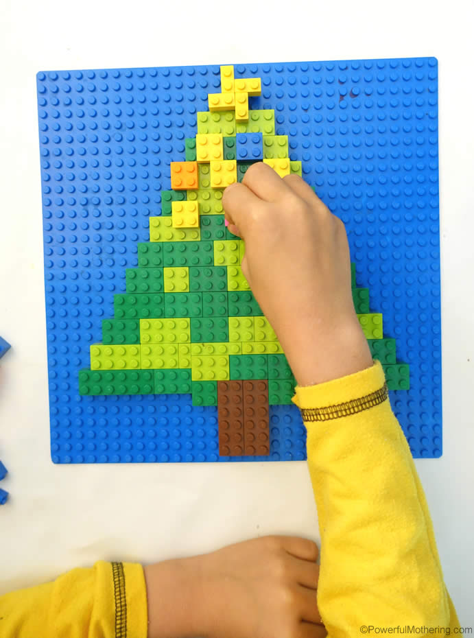 Lego Christmas Tree Activity