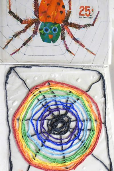 spider web activity for preschoolers