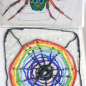How to Make a Rainbow Spider Web