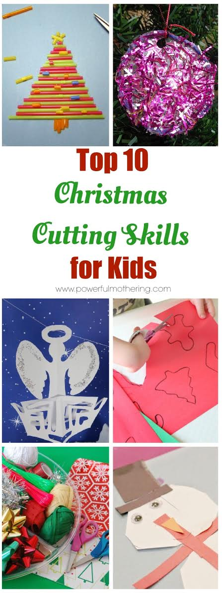 10 Christmas Cutting Skills