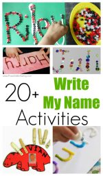 20+ Write My Name Activities