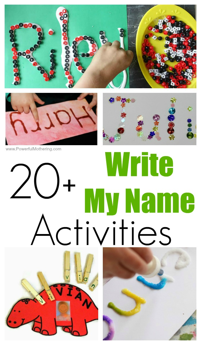 fun write my activities for toddlers and preschoolers 20 write my activities for kids
