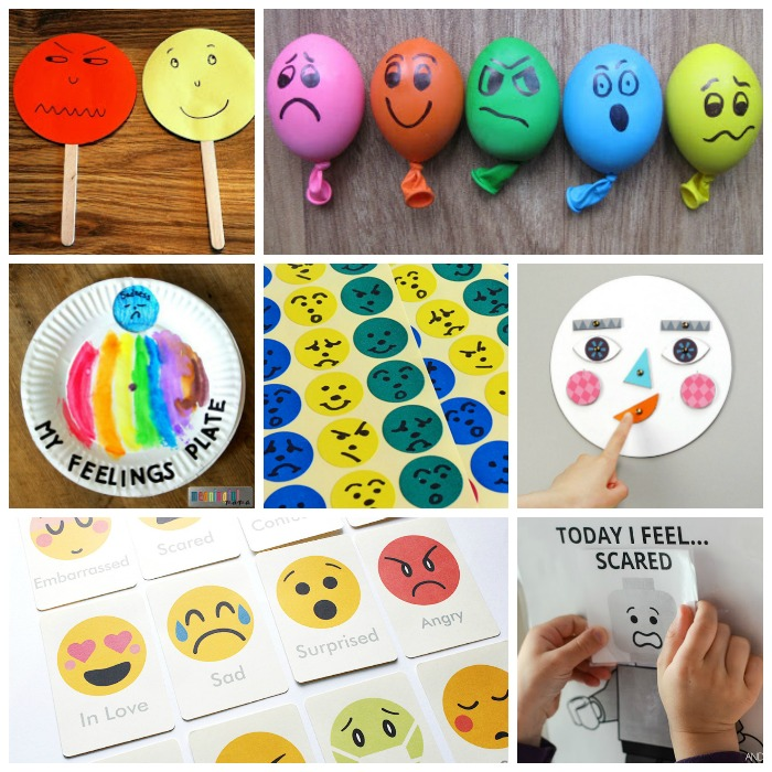 30 Games Activities Printables To Teach Emotions for Kids