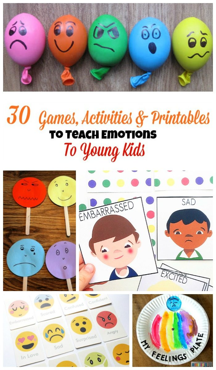 30 Games That Teach Emotions for Kids