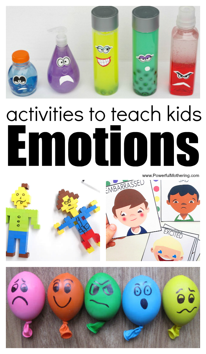 Activities And Printables About Emotions For Kids