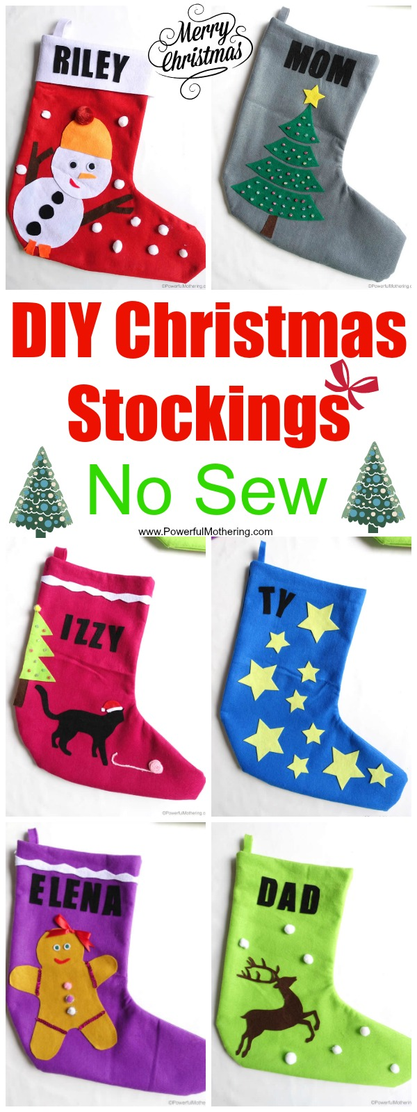 Craft Christmas Stocking Template