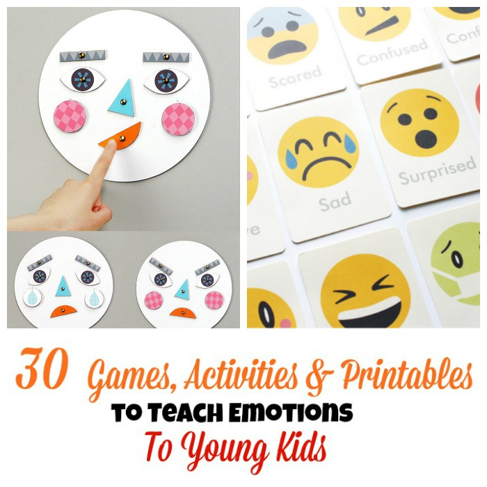 30 activities and printables that teach emotions for kids for Emotion art projects