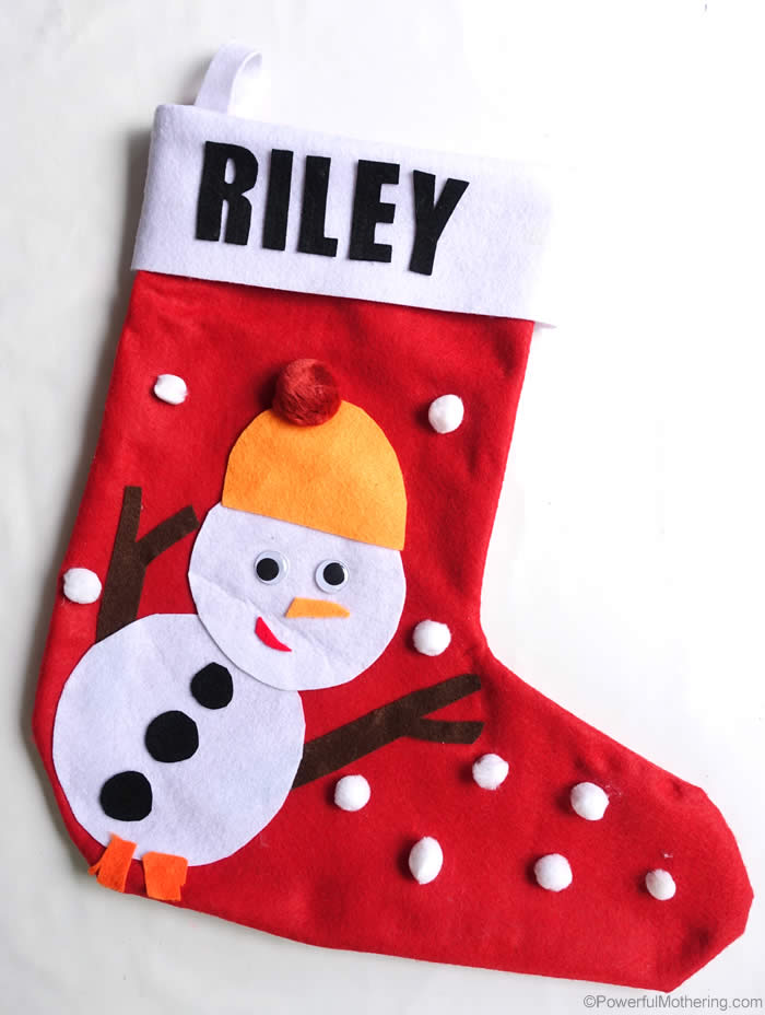 diy snowman christmas stockin - Christmas Socks Decoration