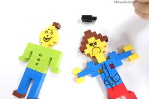 Easy Lego Activity To Teach Emotions
