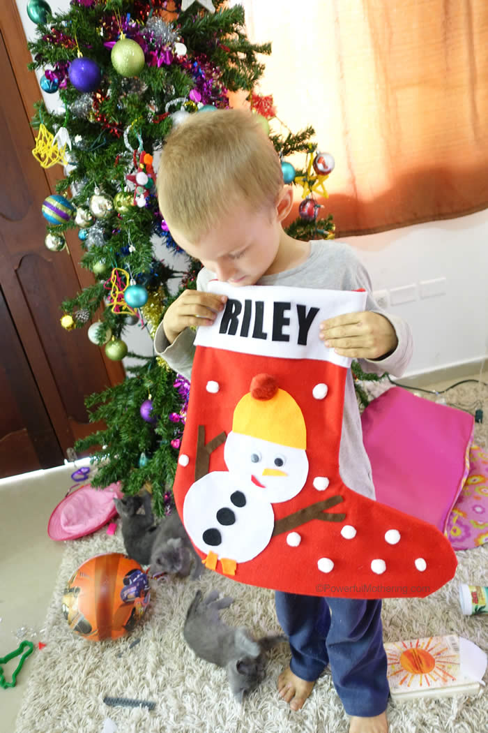 Kids Love These Personalized Stockings