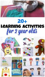 20+ Printable Learning Activities for 2 Year Olds