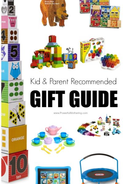 Kid & Parent Recommended Gift Guide – Activities, Books & Toys that Kids Love