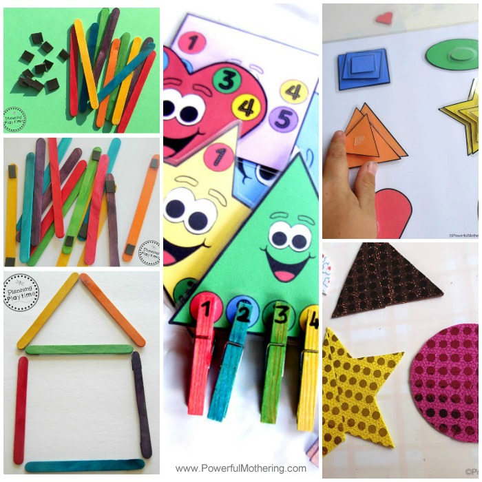Fine Motor Skills With Shapes