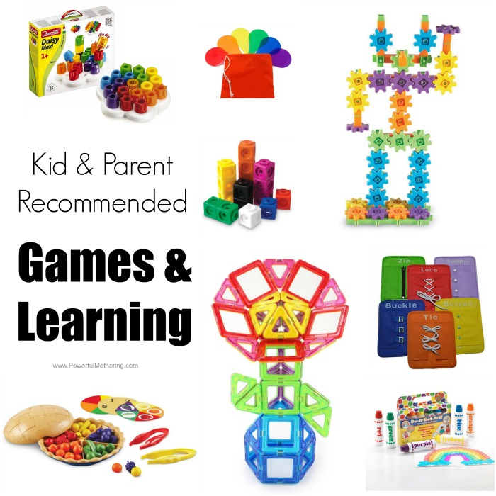 games and learning manipulatives