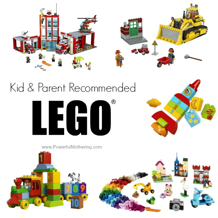 kids lego recommended