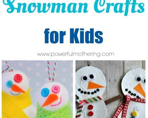 Top 10 Snowman Crafts for Kids