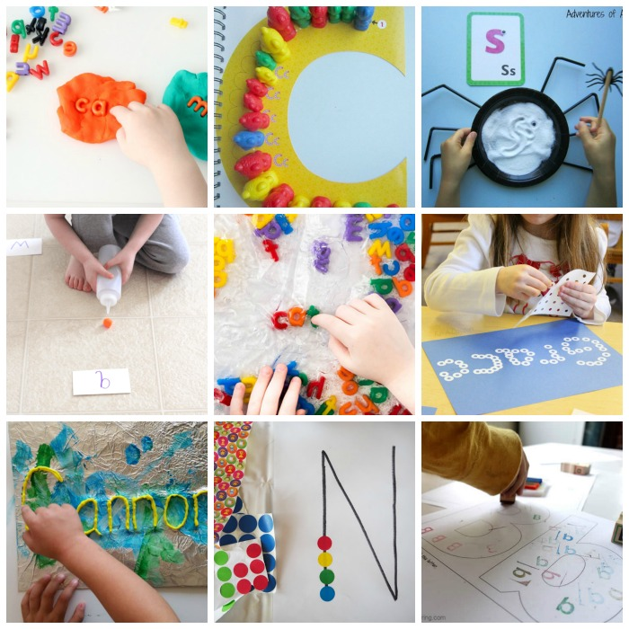 Fine Motor Ideas that Encourage Letter Learning