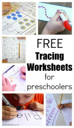 20+ Free Preschool Tracing Worksheets