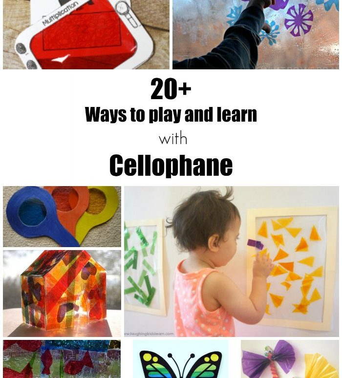 20+ Ways to Play and Learn with Cellophane